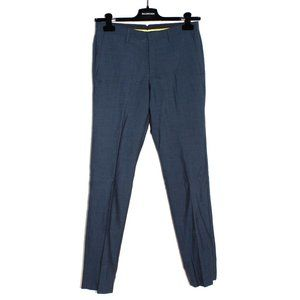 Calibrate Navy Wool/Mohair Trousers